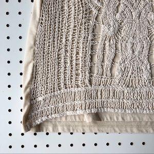 Adiva Tops - ANTHROPOLOGIE ADIVA crocheted boho tank top